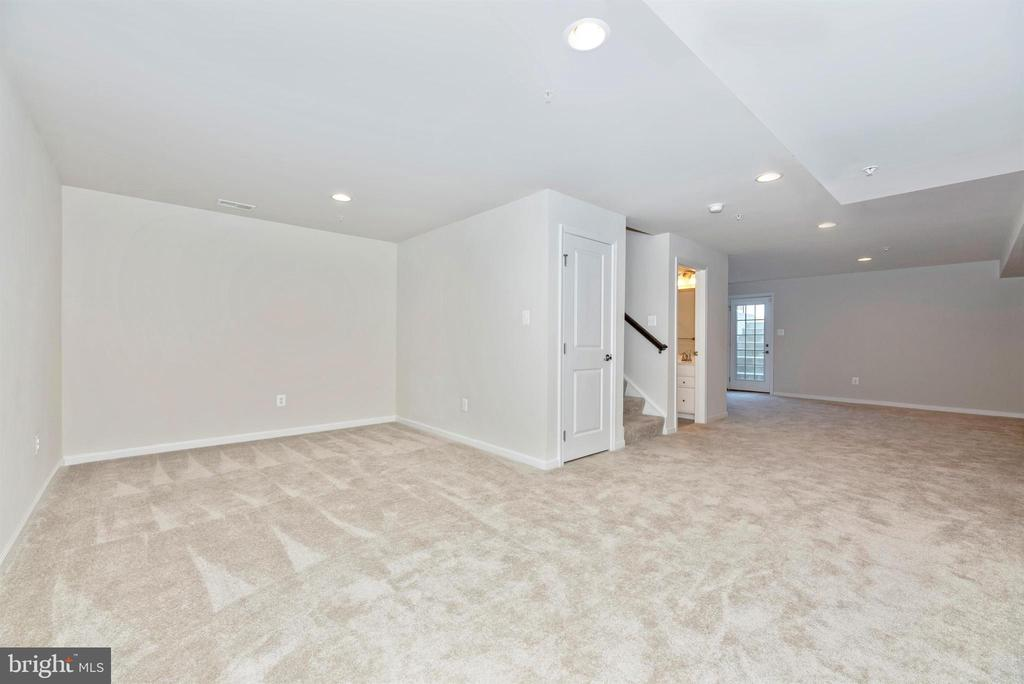 lower level rec room - 10058 HUTZELL ST, IJAMSVILLE