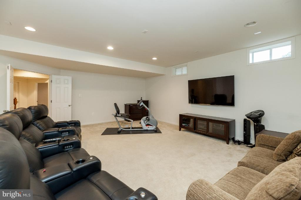 Movie night or watch the game in the media room. - 42426 IBEX DRIVE, STERLING