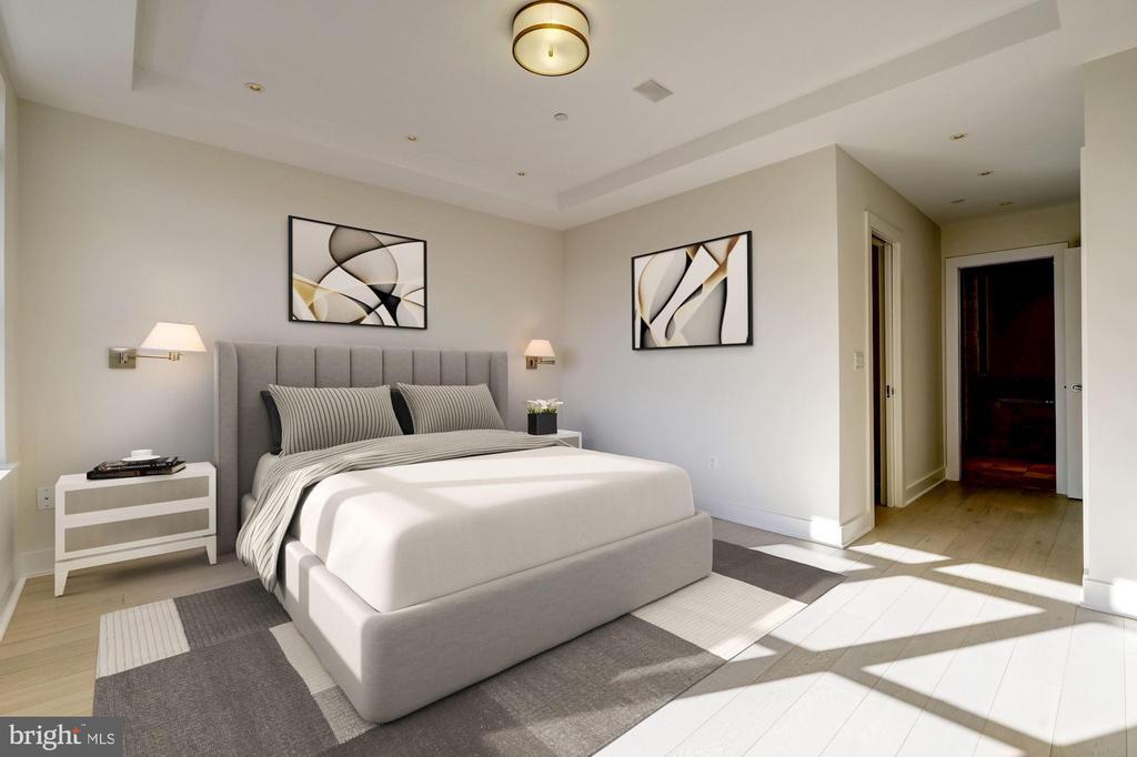 Master Bedroom - 1414 22ND ST NW #PH 62, WASHINGTON