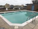Roof Top Pool with view of the City - 1718 P ST NW #207, WASHINGTON