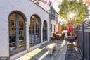 Side patio - 3600 MASSACHUSETTS AVE NW, WASHINGTON