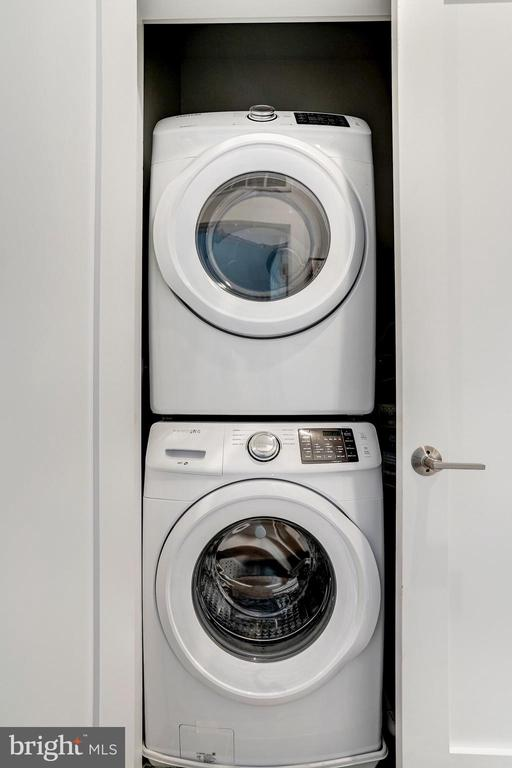 Washer/ dryer in unit - 1507 RHODE ISLAND AVE NE #7, WASHINGTON