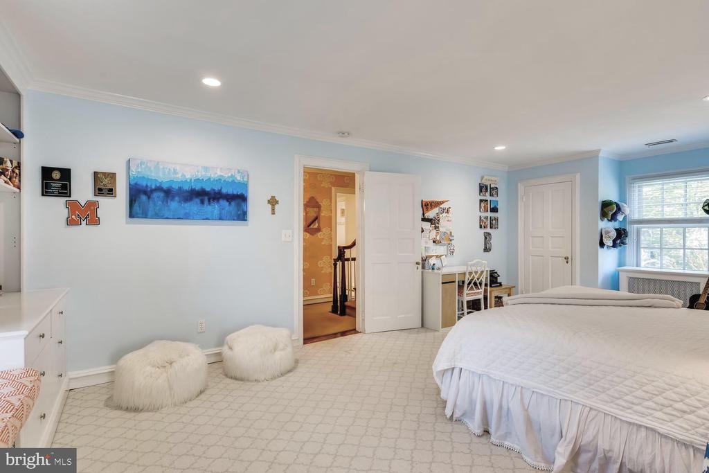 Bedroom Three with en suite Bath - 1209 BERWICK RD, TOWSON