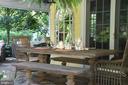 Alfresco dining - spring summer fall - 1209 BERWICK RD, TOWSON