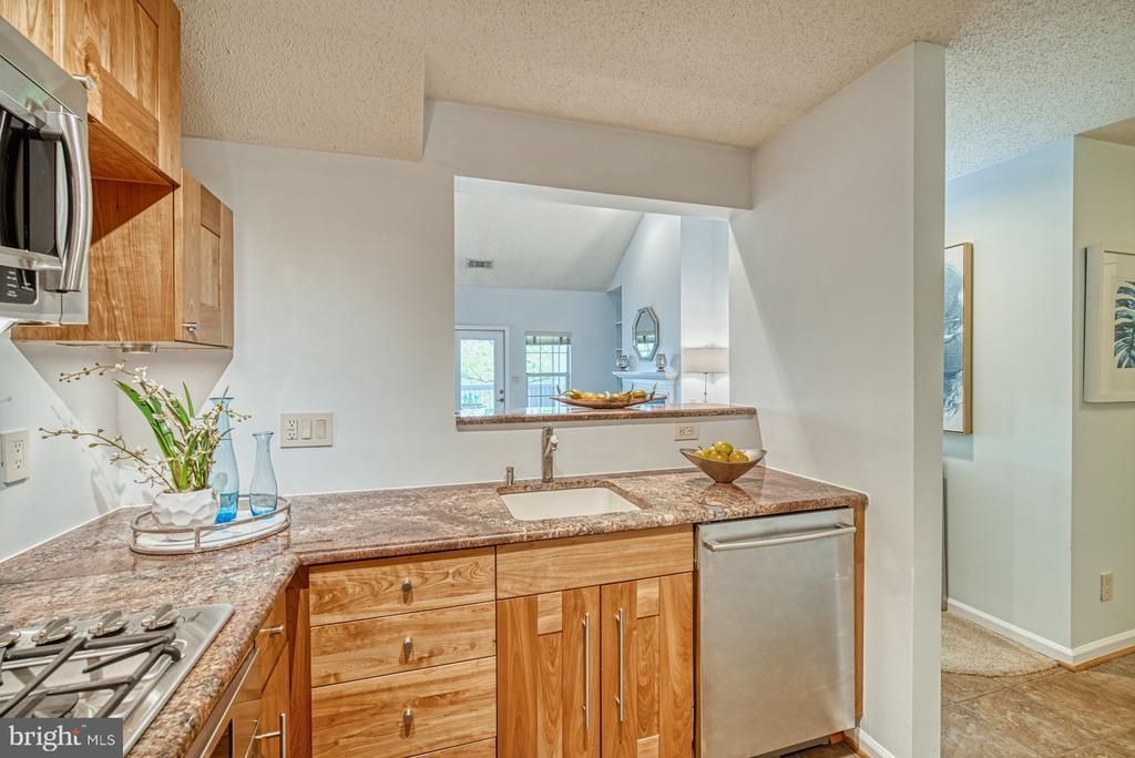 Kitchen View - 1720 LAKE SHORE CREST DR #34, RESTON
