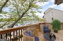 Master-bedroom deck - 2150 CHESAPEAKE HARBOUR DR, ANNAPOLIS