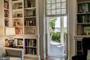 Library Jib Door to Porch - 1 S ACTON PL, ANNAPOLIS