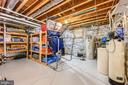 Additional basement storage - 3417 HIDDEN RIVER VIEW RD, ANNAPOLIS