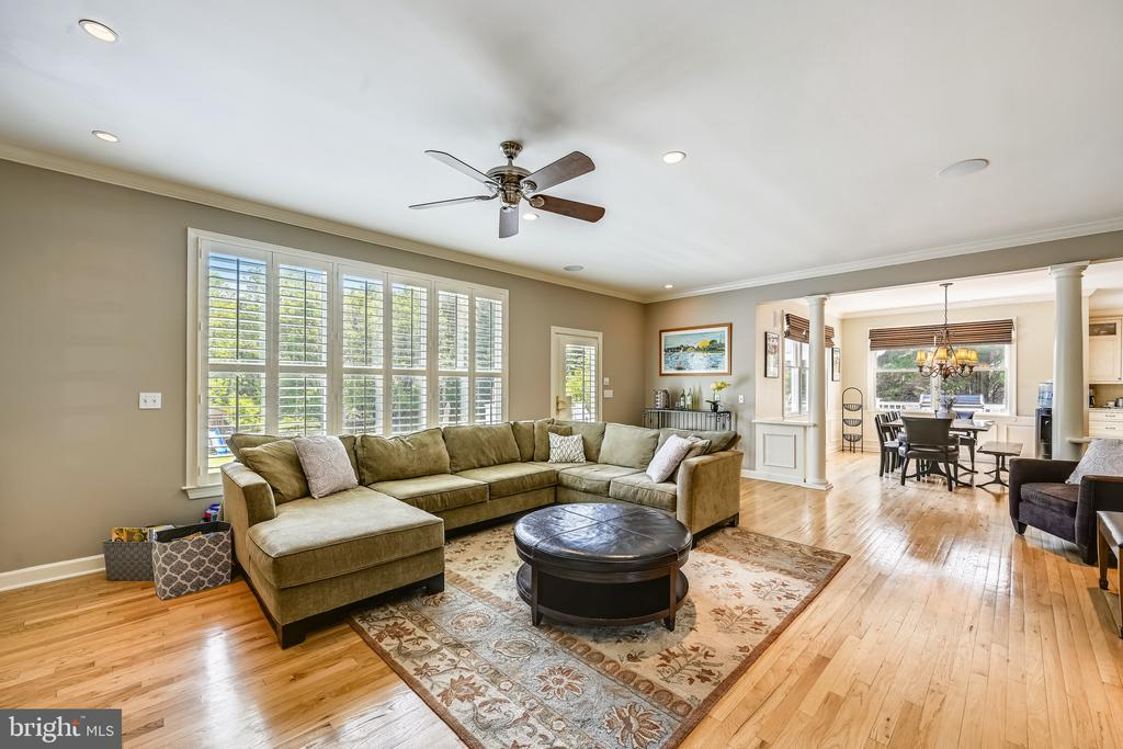 Family room - 3417 HIDDEN RIVER VIEW RD, ANNAPOLIS