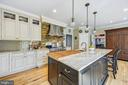 Gorgeous gourmet kitchen - 3417 HIDDEN RIVER VIEW RD, ANNAPOLIS