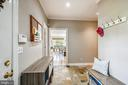 Second entry off kitchen with mudroom - 3417 HIDDEN RIVER VIEW RD, ANNAPOLIS