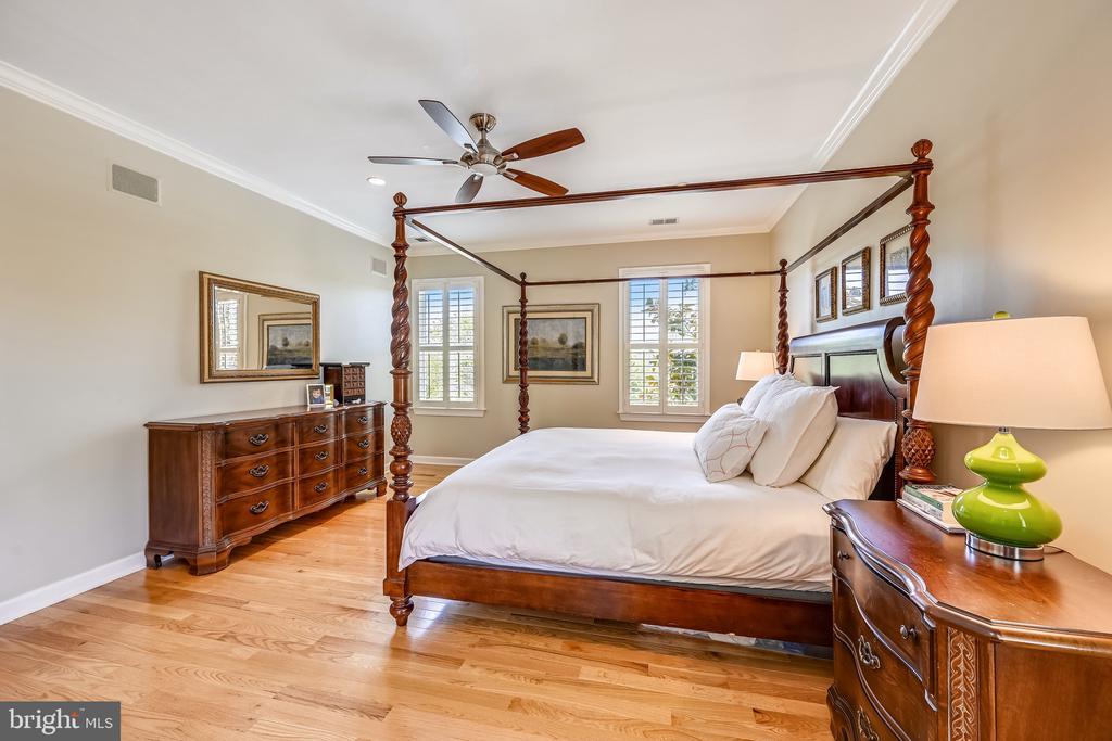 Master bedroom - 3417 HIDDEN RIVER VIEW RD, ANNAPOLIS