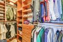 His and Hers walk in closets - 3417 HIDDEN RIVER VIEW RD, ANNAPOLIS