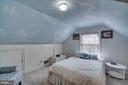 Upper level bedroom 3 - 5824 BRADLEY BLVD, BETHESDA