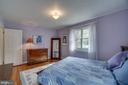 Main level master bedroom - 5824 BRADLEY BLVD, BETHESDA