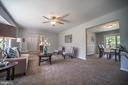 Main Level Living Room - 3506 W WATERSVILLE RD, MOUNT AIRY