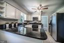 Kitchen with Granite Countertops - 3506 W WATERSVILLE RD, MOUNT AIRY