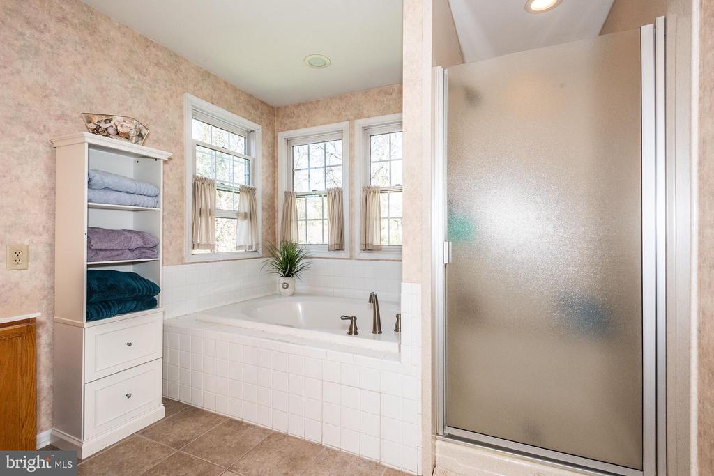 Master Bath Soaking Tub & Separate Shower - 10406 FARMVIEW CT, NEW MARKET
