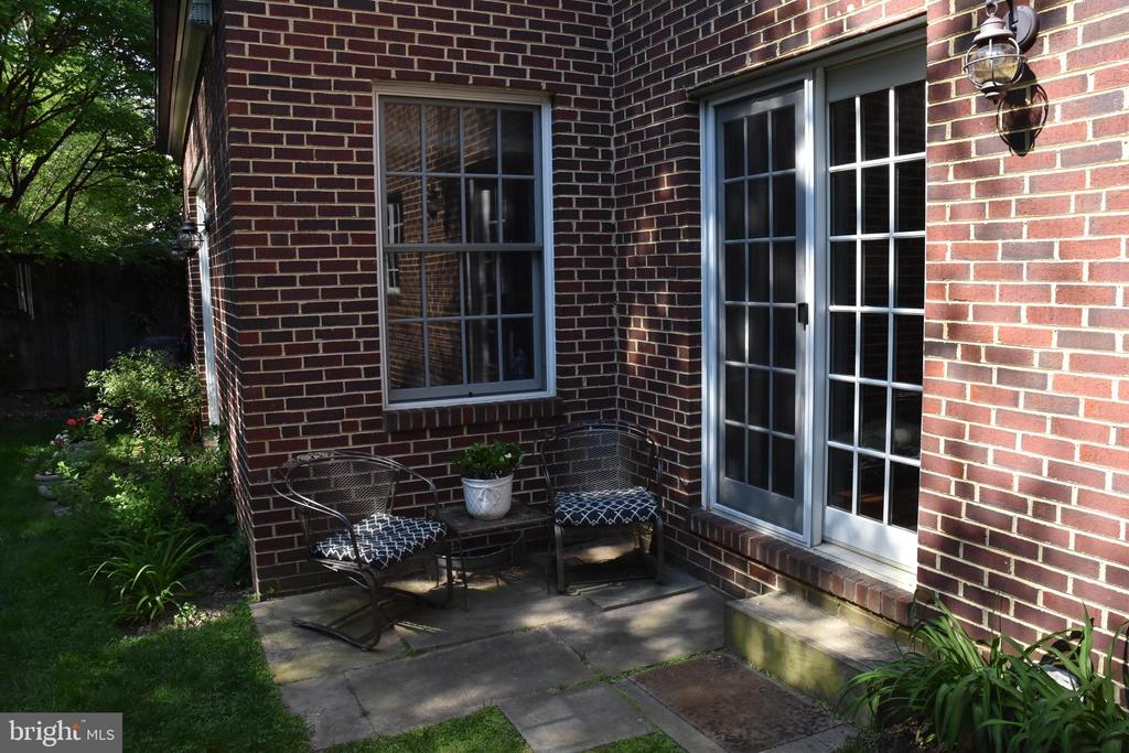 Terrace off Kitchen - 7600 GLENDALE RD, CHEVY CHASE