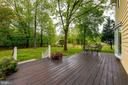 Deck Overlooking Fenced-in Back Yard - 344 DUBOIS RD, ANNAPOLIS