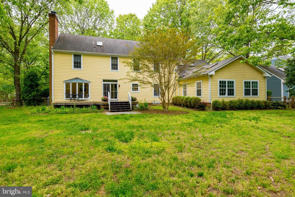 View of the Back Yard and Bonus Room - 344 DUBOIS RD, ANNAPOLIS