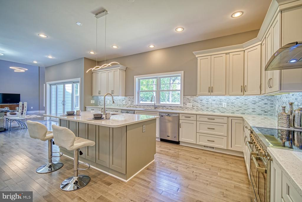 Gourmet Kitchen - 1349 GORDON LN, MCLEAN