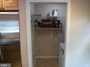 Laundry Room next to Kitchen (Has pocket door) - 1127 SHORT ST, ANNAPOLIS