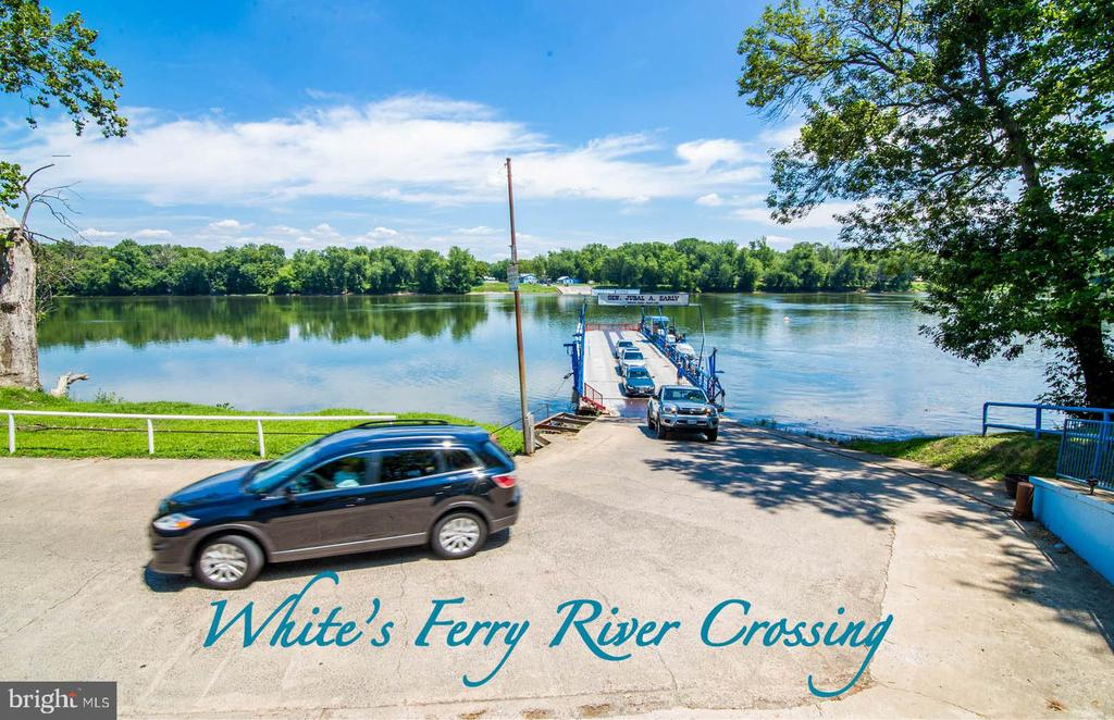 White's Ferry Potomac River Crossing into Maryland - 16329 LIMESTONE CT, LEESBURG