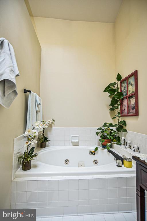 Oval Jacuzzi jet tub & vaulted ceilings - 6510 WESTMORE CT, SPRINGFIELD