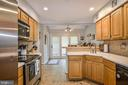 Incredible Kitchen w/ stainless steel appliances - 6510 WESTMORE CT, SPRINGFIELD