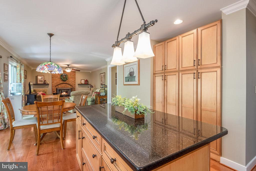 Full pantry across from kitchen island. - 325 SANDY RIDGE RD, FREDERICKSBURG