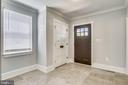 Wide, inviting foyer. Beautiful ceramic tile. - 705 N BARTON ST, ARLINGTON
