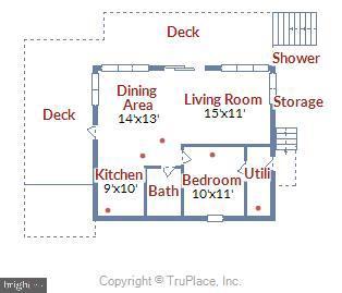 Boathouse floor plan - 236 MOUNTAIN LAUREL LN, ANNAPOLIS