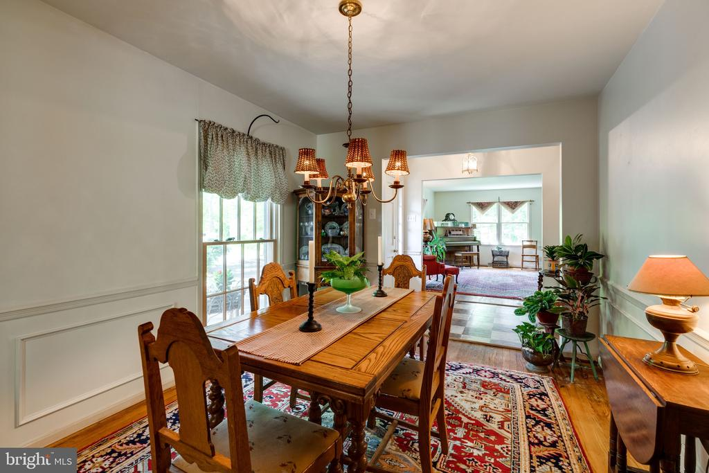 Dining Room - 3634 CAMELOT DR, ANNANDALE