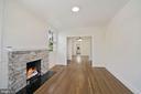 Living room - 4438 42ND ST NW, WASHINGTON