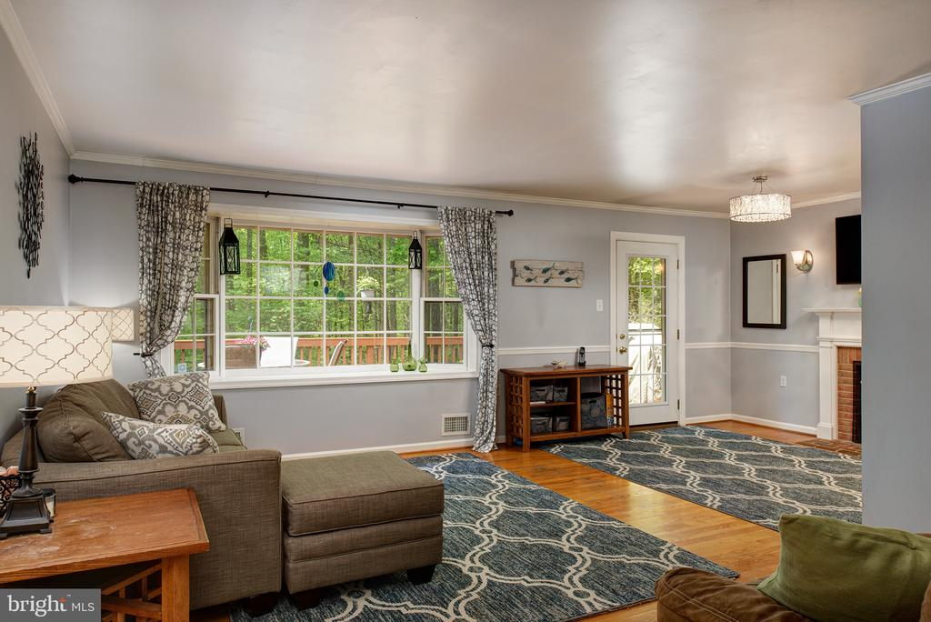 Main level family room - 39225 FOXHILL RD, LEESBURG