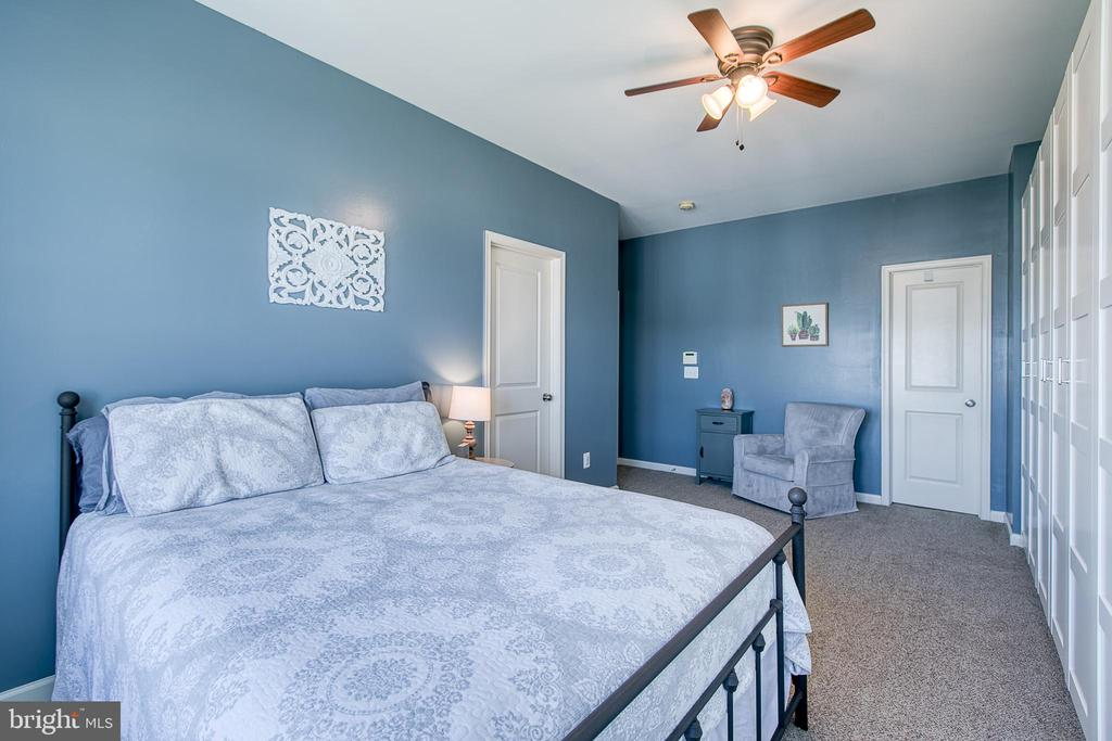 Master bedroom with walk in closet. - 214 WOODSTREAM BLVD, STAFFORD