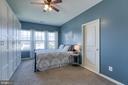 Beautiful Master bedroom! - 214 WOODSTREAM BLVD, STAFFORD