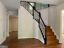 Beautiful Entry way with staircase - 1401 HUNTING WOOD RD, ANNAPOLIS