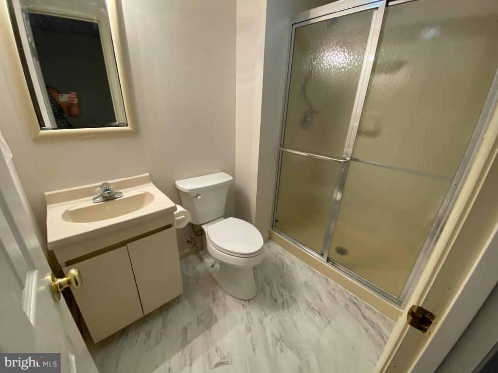 Full Bath in Basement - 1401 HUNTING WOOD RD, ANNAPOLIS