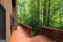 Treetop Deck for Dining & Entertaining Outdoors - 1693 ALICE CT, ANNAPOLIS