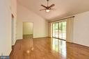 Family Room . Designer Ceiling Fans Throughout - 1693 ALICE CT, ANNAPOLIS