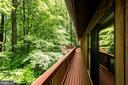 Sliders to Balcony Walkway Adjoining Main Deck - 1693 ALICE CT, ANNAPOLIS