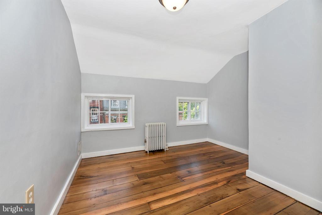 Third bedroom, charming windows! - 137 W 3RD ST, FREDERICK