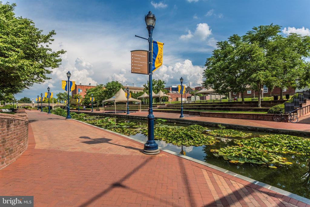 Carroll Creek w/restaurants and shopping - 137 W 3RD ST, FREDERICK
