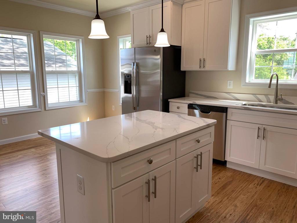 Fabulous kitchen with island - 5509 C ST SE, WASHINGTON