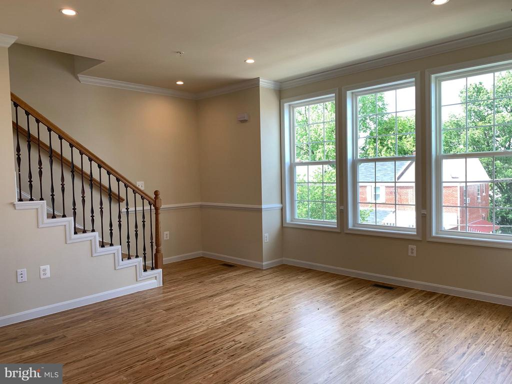 Interior stairs - 5509 C ST SE, WASHINGTON