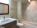 Entry level full bathroom - 5509 C ST SE, WASHINGTON