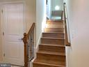 Dual stairs from foyer &FR lead to the  UL - 5509 C ST SE, WASHINGTON