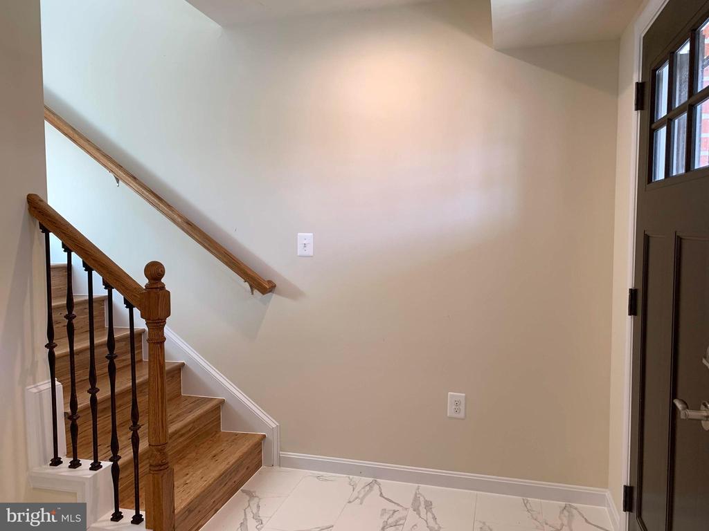 Main level entry/Foyer with coat closet - 5509 C ST SE, WASHINGTON